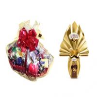 Cesta Chocolate 3 com Ovo de Chocolate